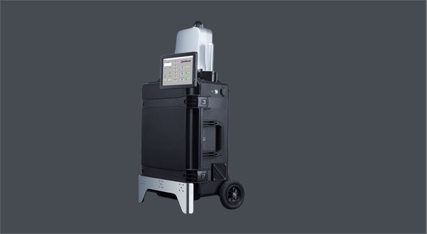 Sparklike Laser Portable Gasglass device non-destructive insulating gas argon analysis for double and triple glazed insulating glass units with coatings and lamination