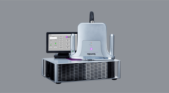 Sparklike Laser Standard Gasglass device non-destructive insulating gas argon analysis for double and triple glazed insulating glass units with coatings and lamination