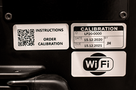 serial number in the main unit